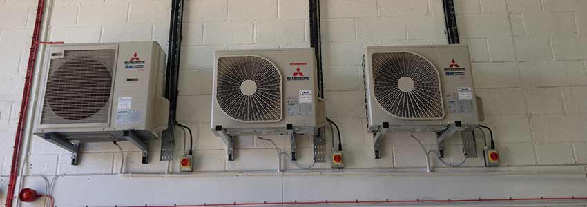 Air Conditioning Installation for Basingstoke Chemicals Company