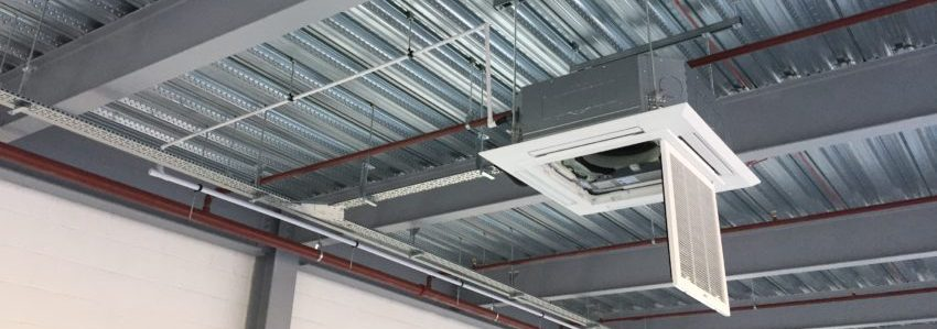 Air Conditioning Installation Zooms In At New Distribution Centre